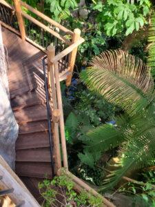 Denver botanic gardens staircase