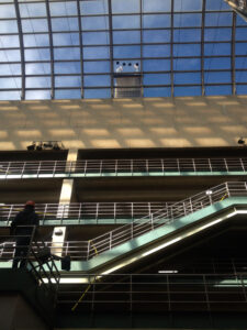 Denver Performing Arts Complex atrium after renovation