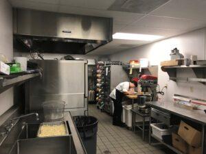 Waterford Grand Senior Living industrial kitchen